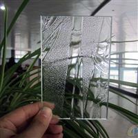 供应银竹压花玻璃