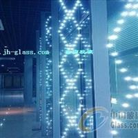 LED发光幕墙 发光隔断幕墙