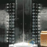 卫浴室发光玻璃 发光卫浴玻璃