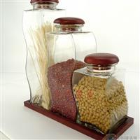 玻璃瓶密封罐 储物罐