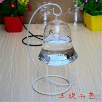 王欢欧式创意玻璃水培花瓶