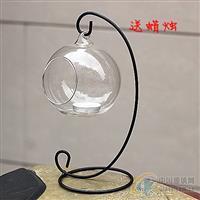 供应玻璃支架蜡烛台