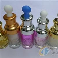 20ml高档滴管瓶配电化铝套肩盖扁形滴头玻璃滴管