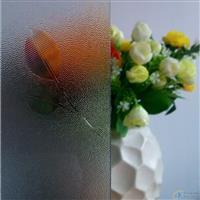 深圳压花玻璃-小叶花