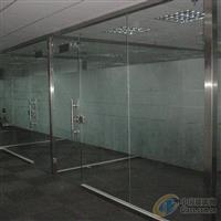 西城区安装玻璃隔断北京隔断安装