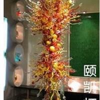 豪华艺术玻璃吊灯