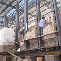提供玻璃窑炉砌筑