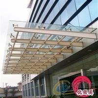 深圳钢结构玻璃雨棚