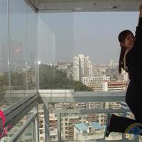 深圳无框阳台窗8MM钢化玻璃