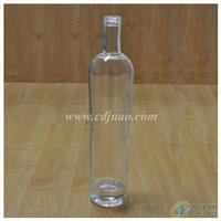 玻璃酒瓶/可贴花/喷漆/蒙砂