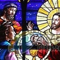 教堂画玻璃