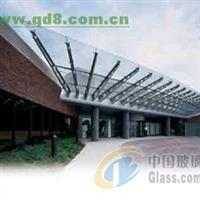 东城区安装钢化玻璃雨棚玻璃价格