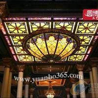 彩绘玻璃穹顶 价格实惠质量保证
