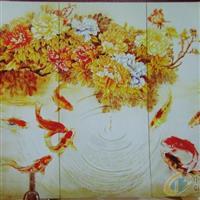 扬州庆亚玻璃、彩雕玻璃厂家直销