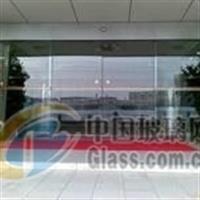 安装玻璃门安装地弹簧玻璃门