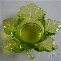 压制玻璃工艺品枫叶托