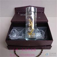 永康双层玻璃杯广告杯印制厂家
