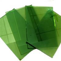 供应4-8毫米绿色玻璃 绿色镀膜玻璃