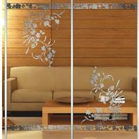 钛金工艺玻璃 钛金玻璃