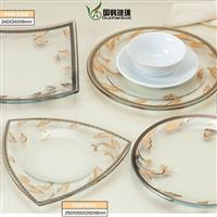 环保玻璃餐具
