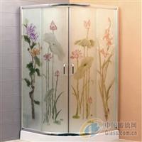 江苏淋浴房玻璃  卫浴玻璃供应