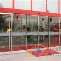 塘沽区安装感应玻璃门中空玻璃