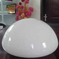 直径200mm白玉蘑菇型灯罩