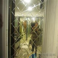 扬州定做各类菱形镜子、手工拼镜