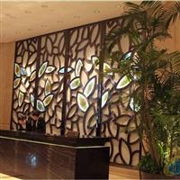宁波南苑酒店前台琉璃背景墙砖瓦