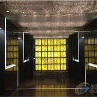 宁波金融中心琉璃砖背景墙瓦