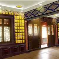 上海青龙寺万佛殿 琉璃砖瓦墙