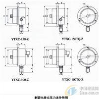 YXD-60Z电接点压力表
