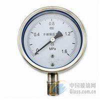 YN60ZT耐震不锈钢压力表