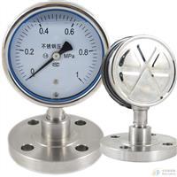 YN100耐震不锈钢压力表
