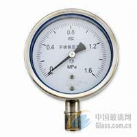 YN100耐震全不锈钢压力表