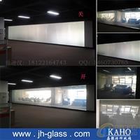 智能调光玻璃-调光玻璃厂家雾化
