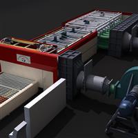 强制对流型钢化炉