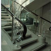 供应水晶楼梯玻璃