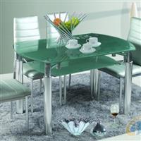 彩绘玻璃餐桌