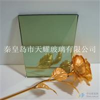 供应4mmF绿镀膜玻璃