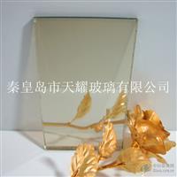供应10mm银白膜玻璃