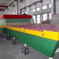 内蒙古原峰钢化玻璃设备生产线