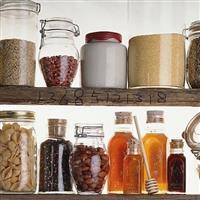 家用玻璃储物罐