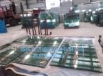 生产背景墙夹胶玻璃设备
