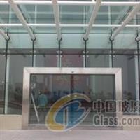 天津玻璃雨棚,天津玻璃门制作