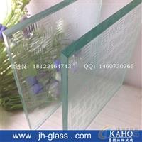 楼梯高透明防滑玻璃