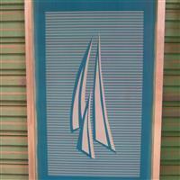 淋浴房玻璃印花网版