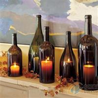 西式玻璃悬挂灯罩创意玻璃烛台