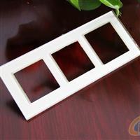 江門廠家供矩形開關玻璃面板