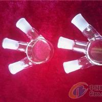 上海璐晶供应各种规格石英双层磨口瓶